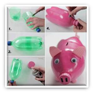 Cara Membuat Mainan Bentuk Ikan dari Botol Bekas